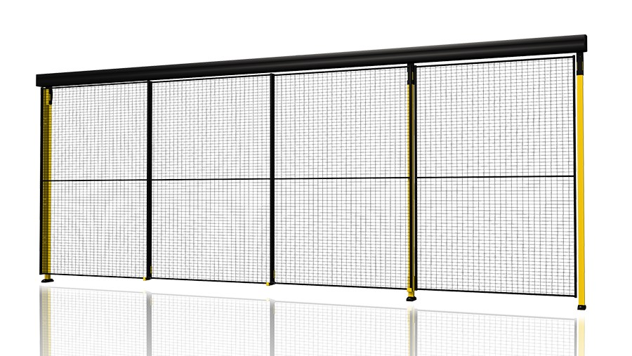 Triple Sliding Door With 3 Step Rail A Triple Telescopic Sliding Door