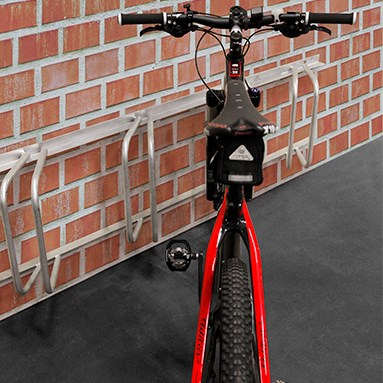 Bike rack for wall mounting