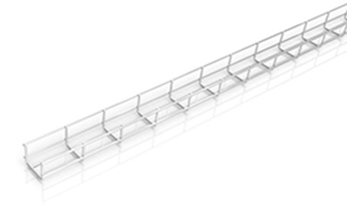 New height measurement for 75 mm X-Tray wire trays