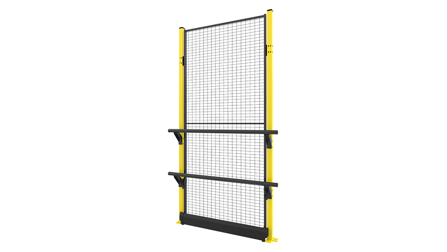 X-Rail 2300 mm with panel - mesh
