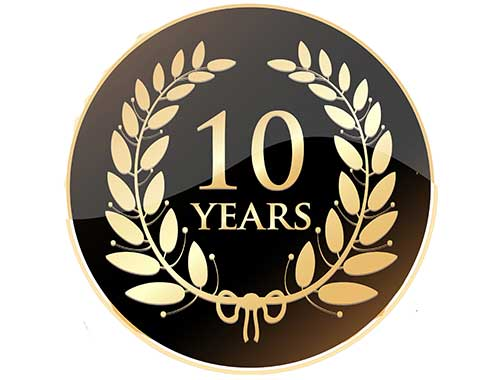10 years with X-Guard