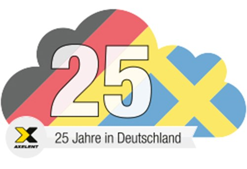 25 year logo germany