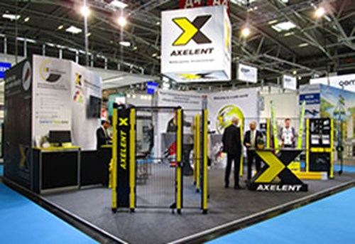 Axelents monter pa Automatica i Munchen