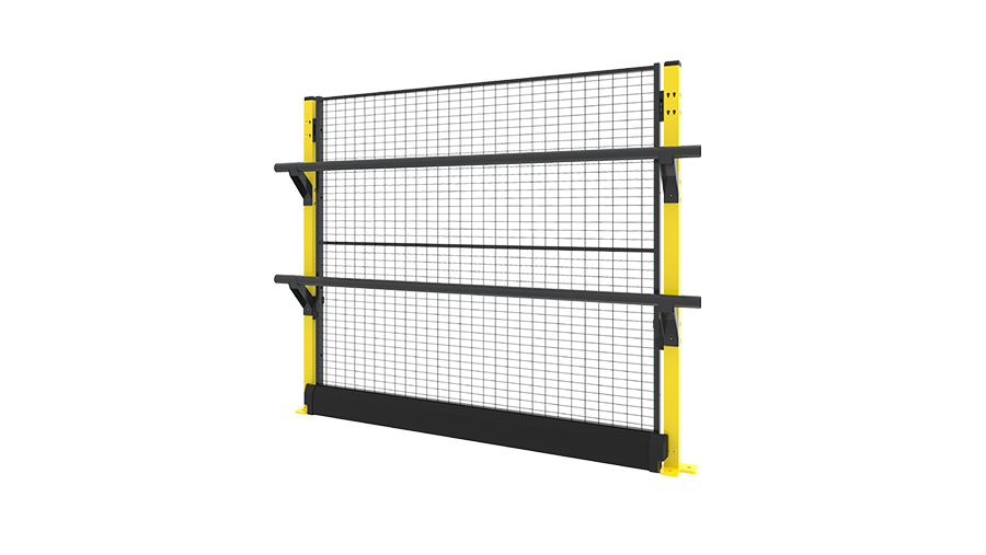 X-Rail 1400 mm - with panel 2 rails