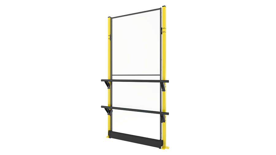X-Rail 2300 mm with panel - plastic